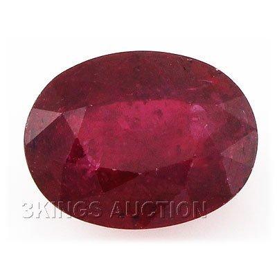 9.22ctw African Ruby Loose Gemstone