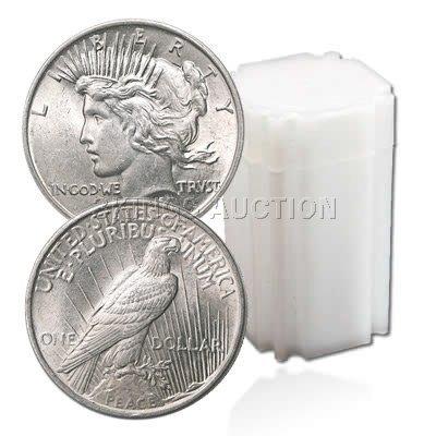**SALE** Peace Dollar Rolls: 1922 Uncirculated
