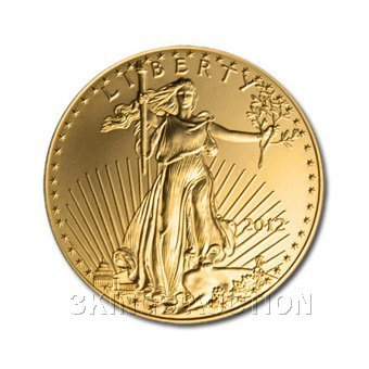 Half Ounce 2012 Uncirculated US American Gold Eagle
