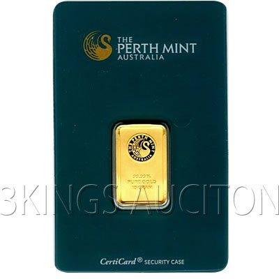 10 Gram Gold Bar Perth Mint