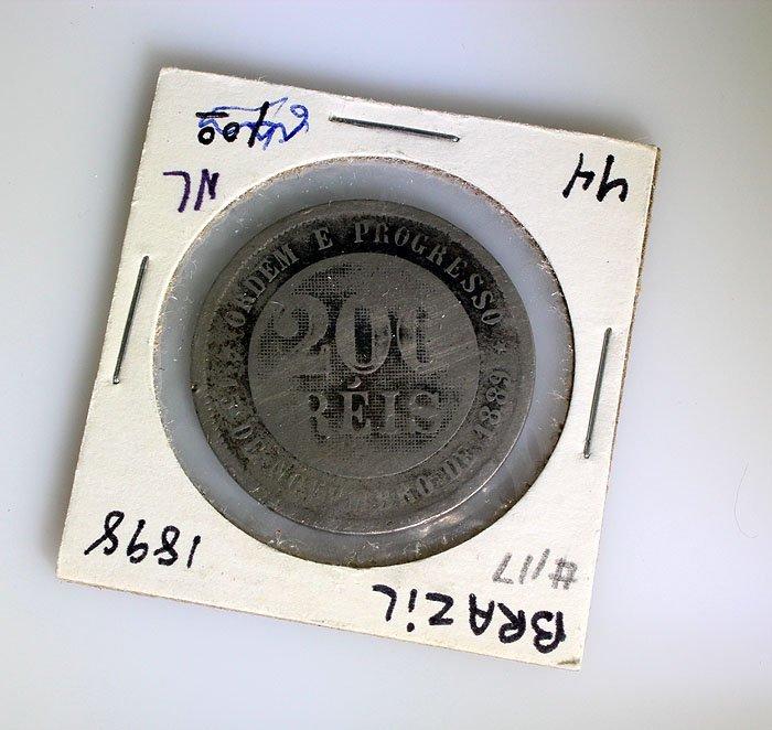Brazil 1898 200 REIS
