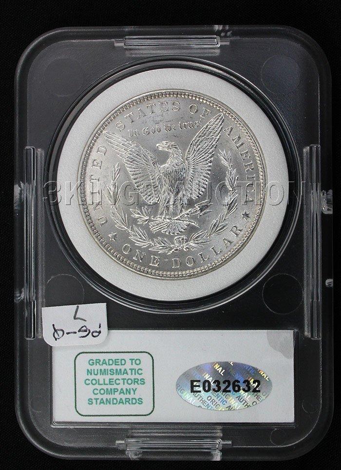 1882-P Morgan NCC MS67
