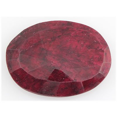 Ruby110.57ctw Loose Gemstone40x30mmOvalCut - 2