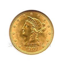$10 Liberty Uncirculated Early Gold Bullion