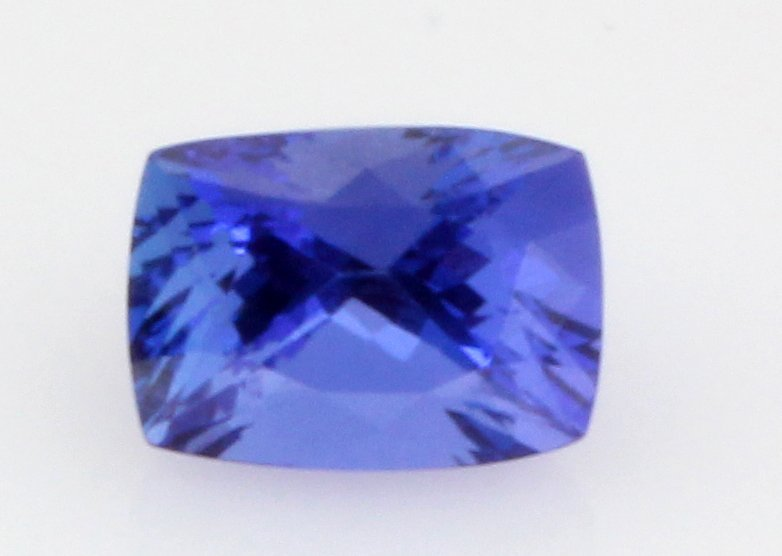 7.47 ct Tanzanite African Stone Cushion approx. 10.7x11