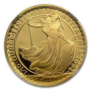 1994 1/10 oz Proof Gold Britannia PF-70 UCAM NGC - Regi