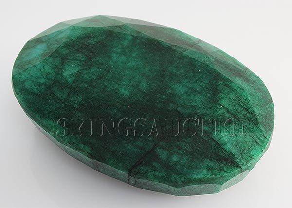 Big Emerald Beryl 1118.50ctw Loose Gemstone Oval Cut