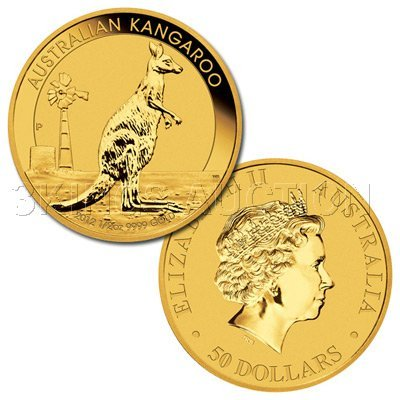 Australian Gold Nugget One Ounce 2012