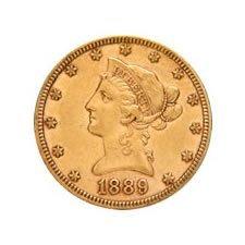 $10 Liberty Extra Fine Early Gold Bullion