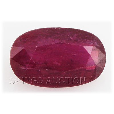 7.50ctw African Ruby Loose Gemstone