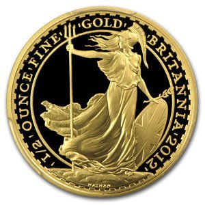 2012 1/2 oz Proof Gold Britannia PR-70 DCAM PCGS (FS)