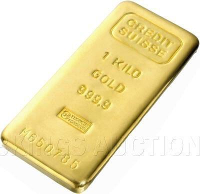 32.15 Troy Ounces One Kilo Gold Bar (Manufacturer Our C