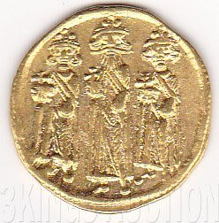 Heraclius Solidus Byzantine Gold