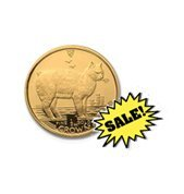 Gold Cats: Isle Of Man : One 25th Ounce 1988
