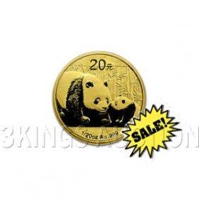 Chinese Gold Panda 20th Ounce 2011