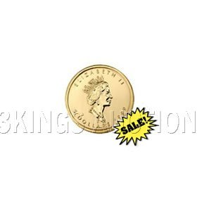 Canada Maple Leaf 20th Ounce Gold Coin (Date Our Choice