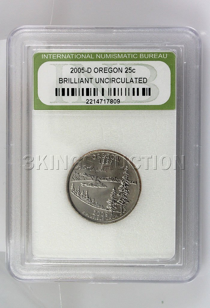 2005-D Oregon 25Cents BU! INB