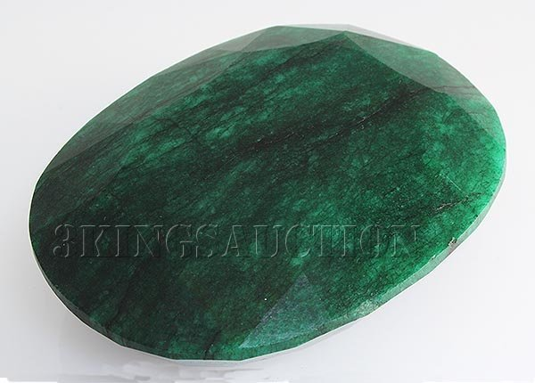 Big Emerald Beryl 1171.50ctw Loose Gemstone Oval Cut