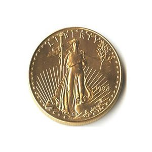Quarter Ounce 1994 US American Gold Eagle Uncirculated