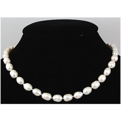 161.62 ctw Roval White Freshwater Pearl Necklace