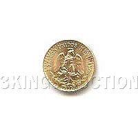 Mexico 2 Pesos Gold Coin