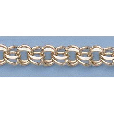"Pure Gold 7"" 14k Gold-Yellow 1.9mm Charm Bracelets 7.1g"