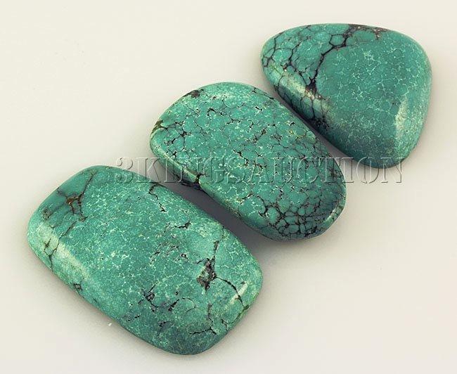 Natural Turquoise 177.20ctw Loose Gemstone 4pc Big Size