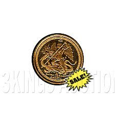Isle Of Man Tenth Ounce Gold Angel (dates our choice)