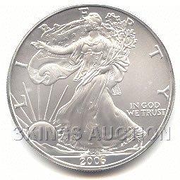 Uncirculated Silver Eagle 2006