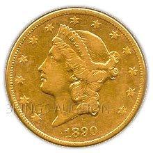 $20 Liberty Extra Fine Early Gold Bullion