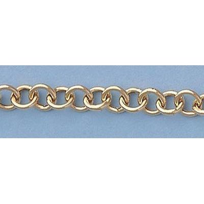 "Pure Gold 7"" 14k Gold-Yellow Rd Links Heart Bracelet 8g"