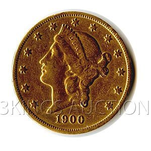 $20 Liberty Jewelry Grade Early Gold Bullion