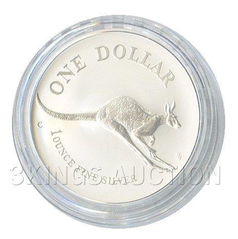 Australian Kangaroo 1 oz. Silver 1994