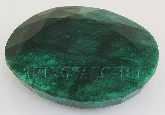 Big Emerald Beryl 1019.50ctw Loose Gemstone Oval Cut