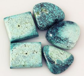 Natural Turquoise 169.12ctw Loose Small Gemstone Lot of
