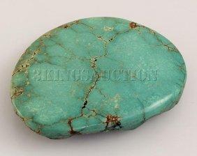 Natural Turquoise 134.24ctw Loose Gemstone 1pc Big Size