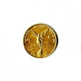 Mexico Gold Libertad Tenth Ounce 2010