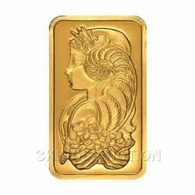 Ten Ounce Gold Bar Pamp Suisse