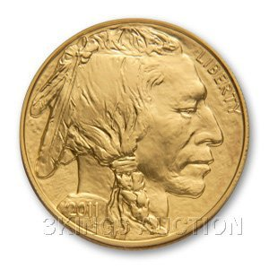 One Ounce 2011 Gold Buffalo Coin Uncirculated