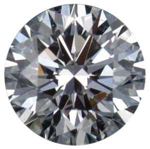 CERTIFIED Round 0.50 Carat E,SI2, EGL ISRAEL