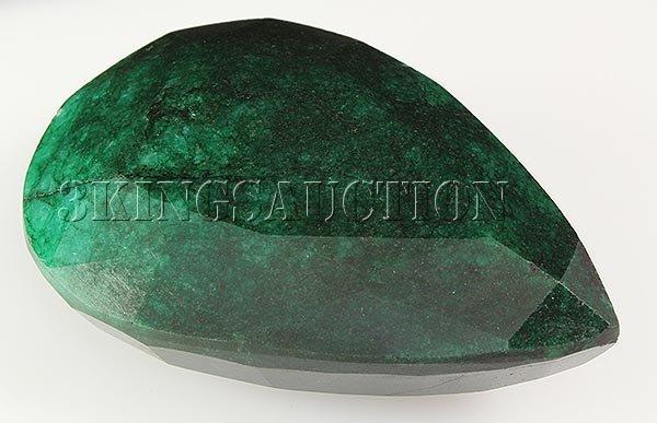 Big Emerald Beryl 748.50ctw Loose Gemstone Pear Cut
