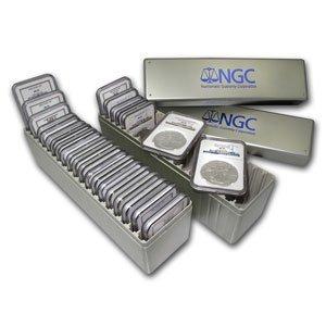 1986-2012 Silver American Eagle Set NGC (MS-69) 2 NGC B