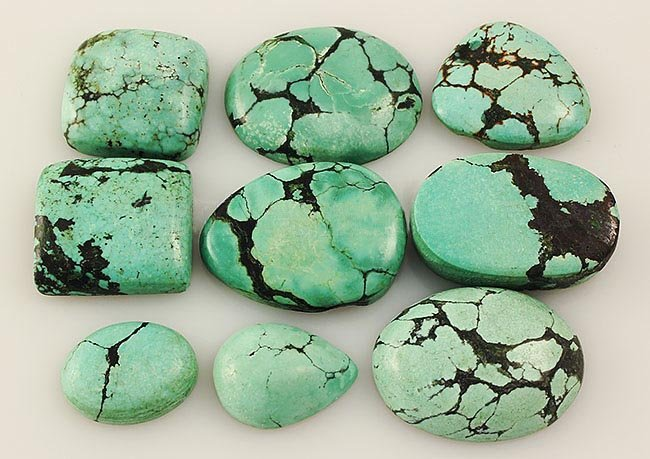 Natural Turquoise 189.68ctw Loose Small Gemstone Lot of