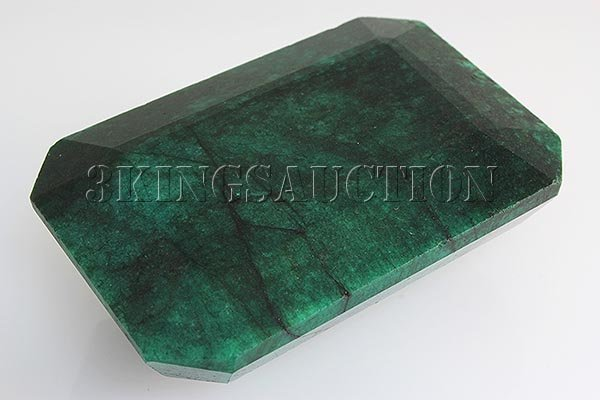 Big Emerald Beryl 730.50ctw Loose Gemstone Emerald Cut