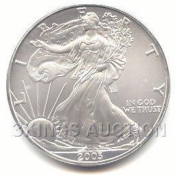 Uncirculated Silver Eagle 2003