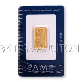 10 Gram Gold Bar Pamp Suisse
