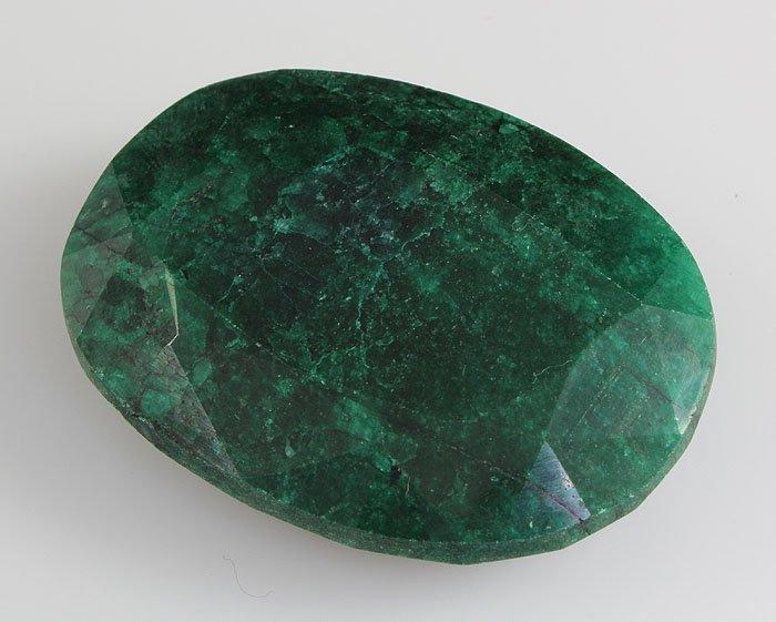 Emerald 171.30 ctw Loose Gem 46.48x35.08mm Oval Cut