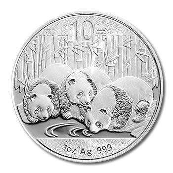 Chinese Silver Panda 1 oz 2013
