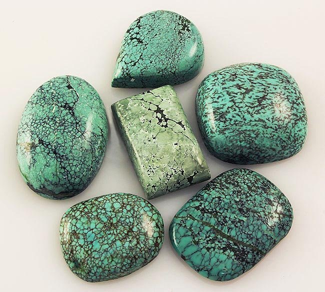Natural Turquoise 165.04ctw Loose Small Gemstone Lot of