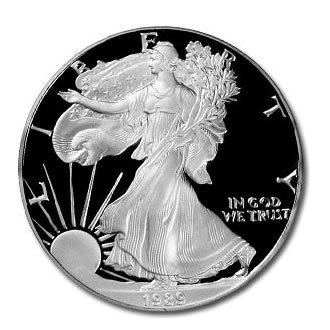 Proof Silver Eagle 1986-1992 (S)